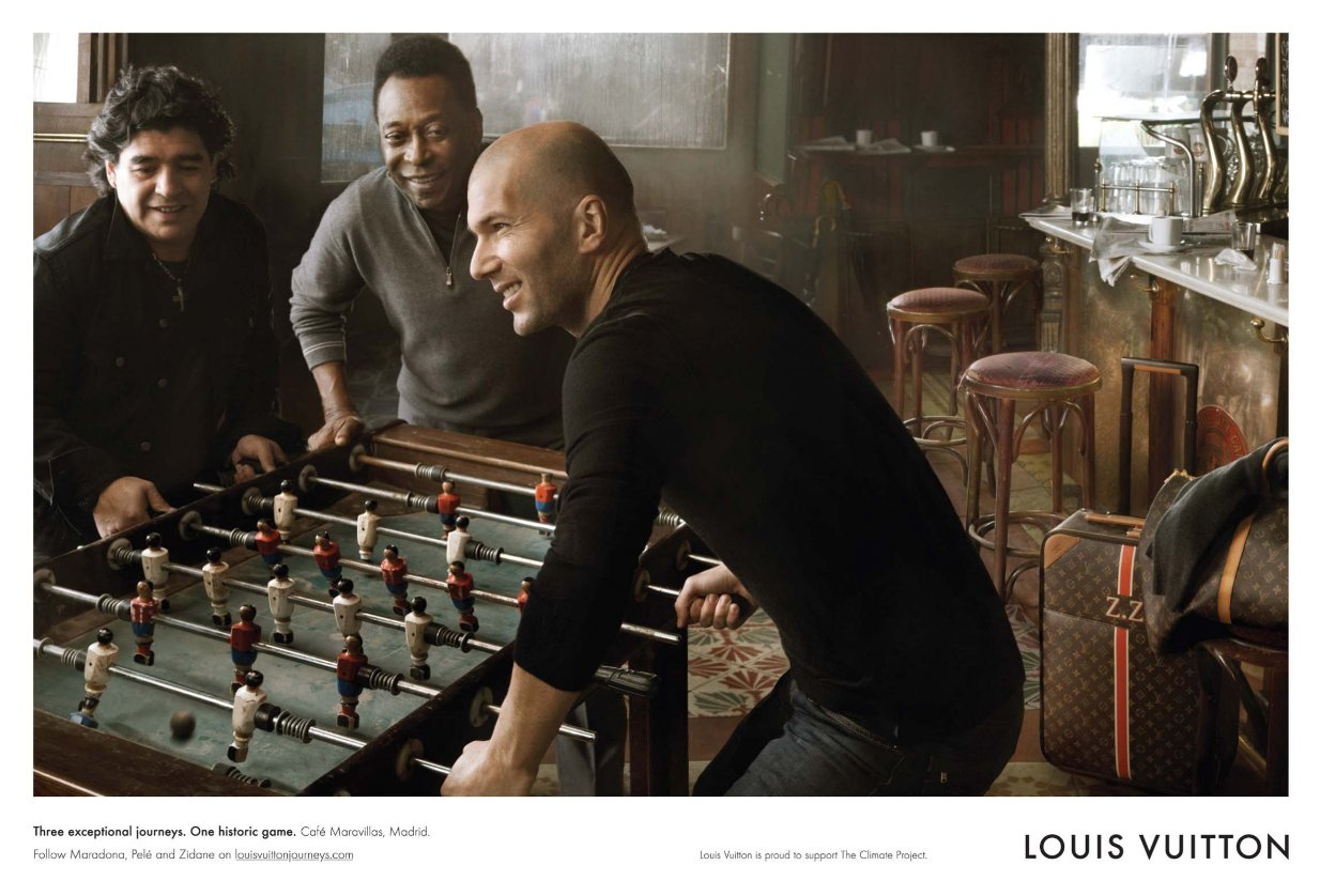 annieleibovitz zidane pele maradona pub en stock. Black Bedroom Furniture Sets. Home Design Ideas