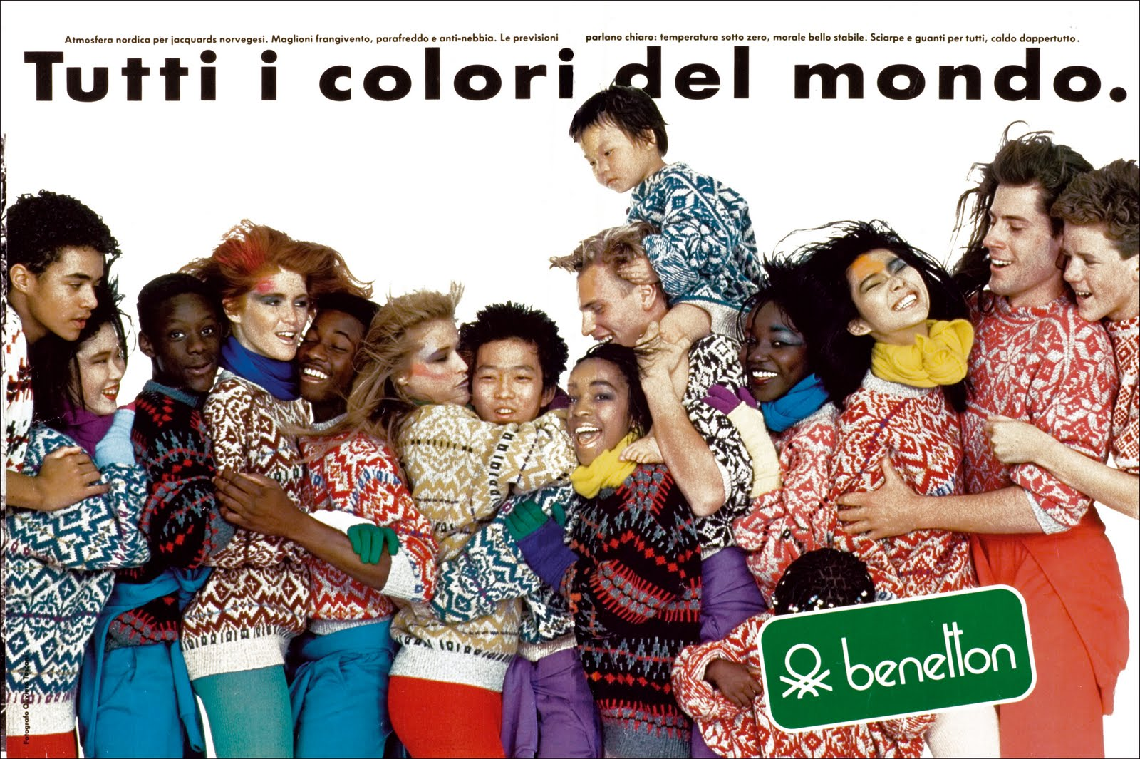 United colors of benetton ads